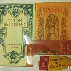 Libros: EL CATON MODERNO Y LA CARTILLA MODERNA DE URBANIDAD ( PACK ). Lote 206269110