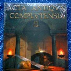 Libros: OCIO Y ESPECTÁCULO EN LA ANTIGÜEDAD TARDÍA - ACTA ANTIQVA COMPLVTENSIA II - Gª MORENO/RASCÓN MARQUÉS. Lote 207028011