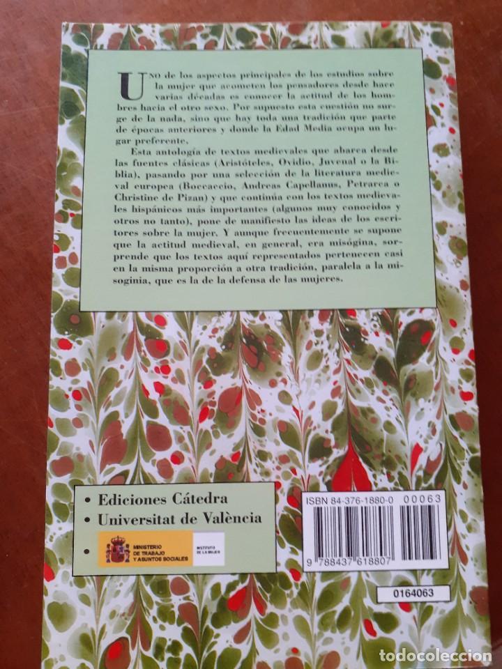 Libros: Misoginia y defensa de las mujeres. Antología de textos medievales - Foto 2 - 210219405