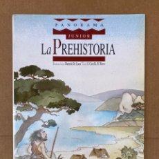 Libros: LA PREHISTORIA JUNIOR PANORAMA - AURA AULA 1992. Lote 211639256