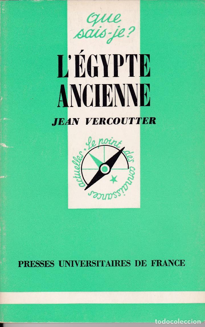 L'ÉGYPTE ANCIENNE (VERCOUTTER) (Libros Nuevos - Historia - Historia Antigua)