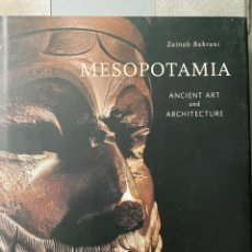 Libros: MESOPOTAMIA ANCIENT ART AND ARCHITECTURE. Lote 215989607