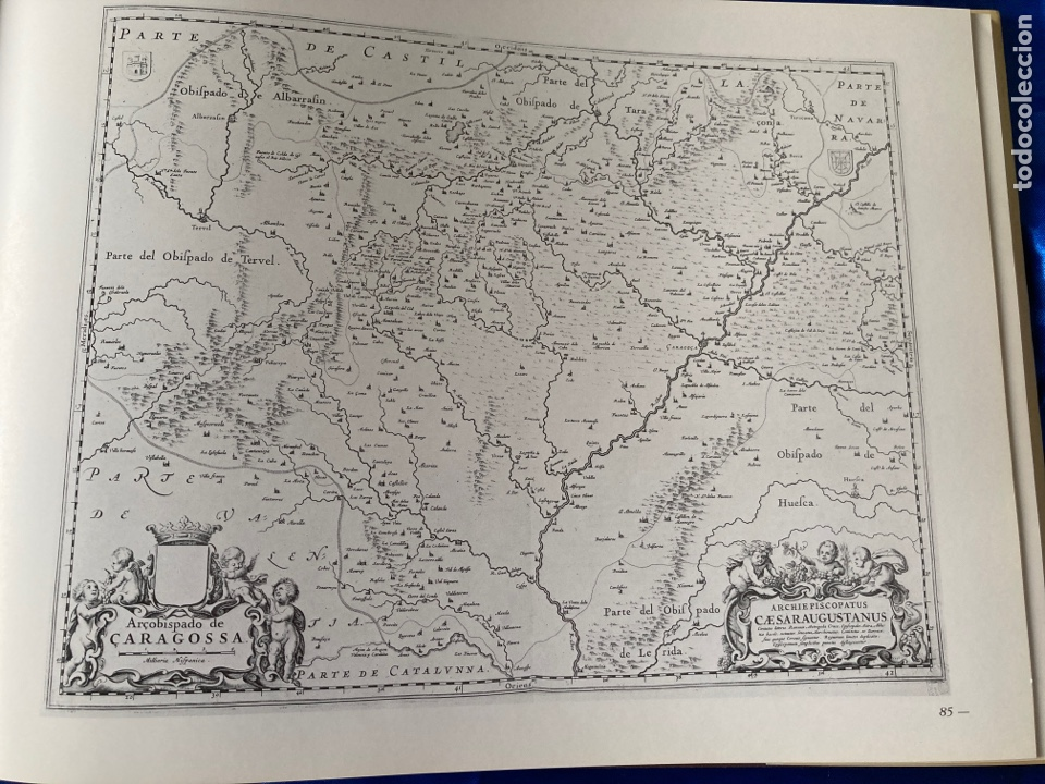 Libros: Albun Geográfico Histórico Del Reino de Aragon XVI-XIX - Foto 3 - 216447526