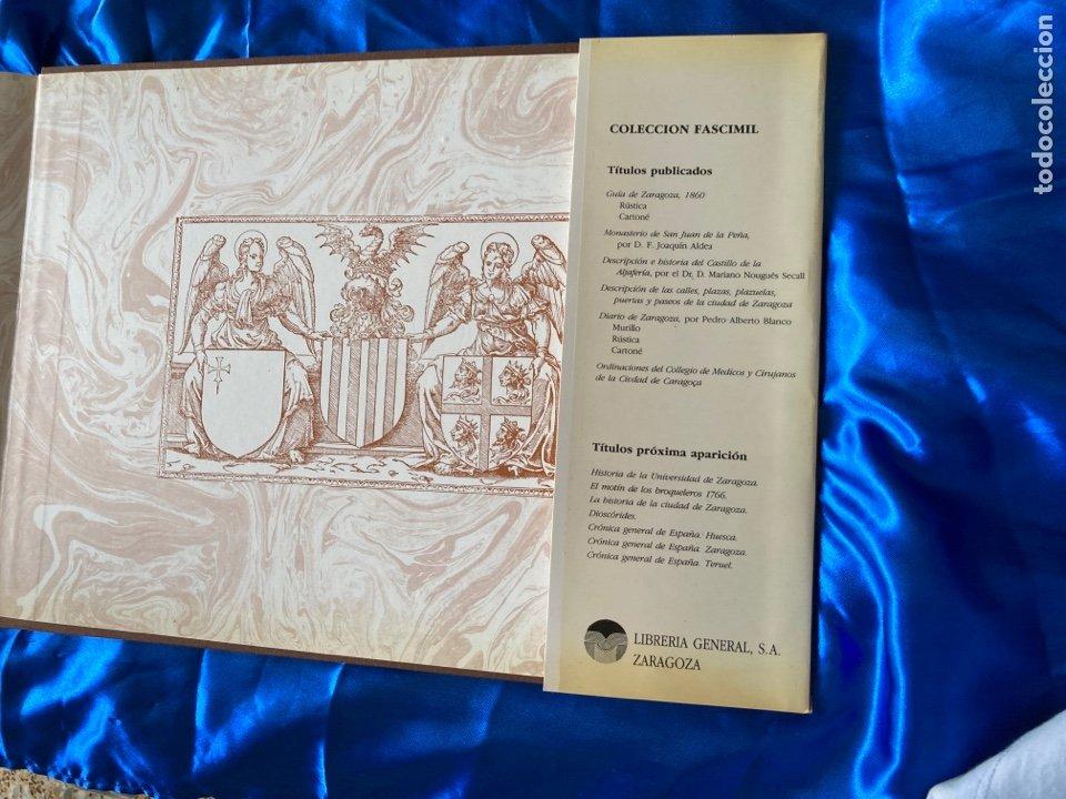 Libros: Albun Geográfico Histórico Del Reino de Aragon XVI-XIX - Foto 7 - 216447526