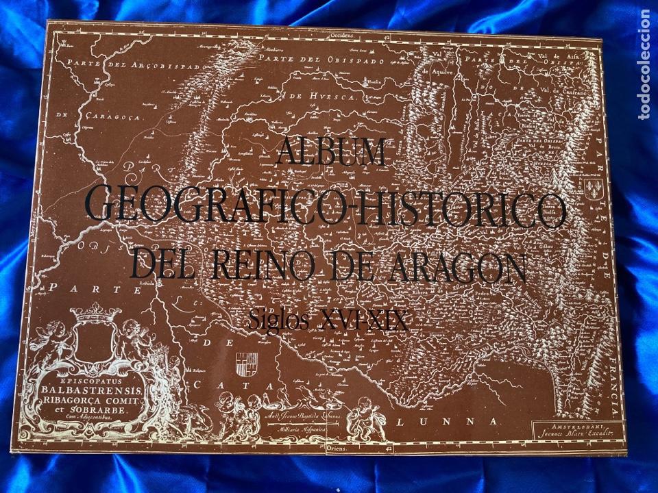 Libros: Albun Geográfico Histórico Del Reino de Aragon XVI-XIX - Foto 5 - 216447526