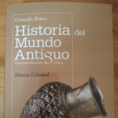 Libros: HISTORIA DEL MUNDO ANTIGUO DE GONZALO BRAVO. Lote 217956371