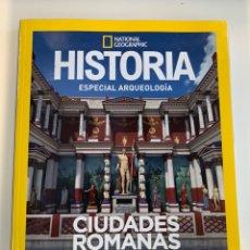 Libros: CIUDADES ROMANAS EFESO Y PERGAMO HISTORIA ARQUEOLOGÍA NATIONAL GEOGRAPHIC- NUEVO. Lote 219068500