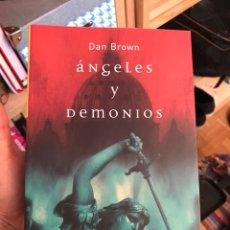 Libros: LIBRO ANGELES Y DEMONIOS. Lote 219268933