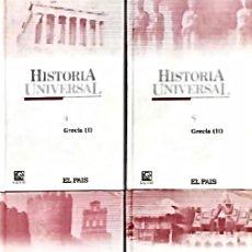 Libros: HISTORIA UNIVERSAL - LOTE PACK 4 LIBROS - EDITORIAL SALVAT EL PAIS (2004). Lote 170854935