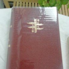 Libros: PLUTARCO VIDAS PARALELAS TAPAS DURAS EN PIELINA. Lote 222232783