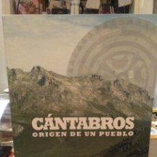 Libros: ANGEL OCEJO Y VV.AA.CÁNTABROS.(ORIGEN DE UN PUEBLO).ADIC. Lote 222512363