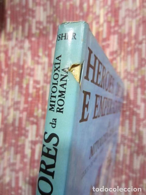 Libros: Heroes, deuses e emperadores da mitoloxía romana - Kerry Usher e John Sibbick - Foto 2 - 222891450