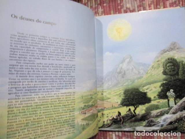 Libros: Heroes, deuses e emperadores da mitoloxía romana - Kerry Usher e John Sibbick - Foto 6 - 222891450