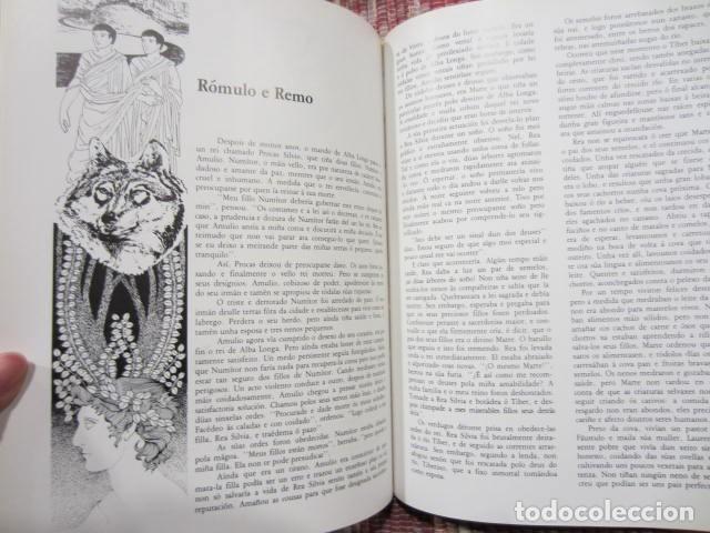 Libros: Heroes, deuses e emperadores da mitoloxía romana - Kerry Usher e John Sibbick - Foto 7 - 222891450