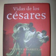 Libros: VIDAS DE LO CÉSARES / ANTHONY A. BARRET , ED.. Lote 222939337
