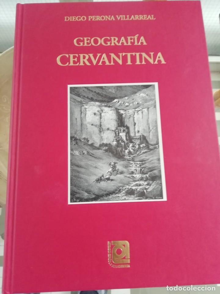 GEOGRAFÍA CERVANTINA TAPAS DURAS POR DIEGO PERONA (Libros Nuevos - Historia - Historia Antigua)
