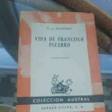 Libros: VIDA DE FRANCISCO PIZARRO. Lote 226226705