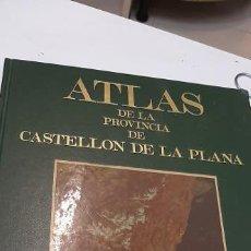 Libros: ATLAS DE LA PROVINCIA DE CASTELLON. Lote 227120014
