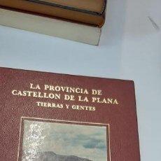 Libros: MAGNIFICO LIBRO LA PROVINCIA DE CASTELLON Y SUS GENTES. Lote 229631415