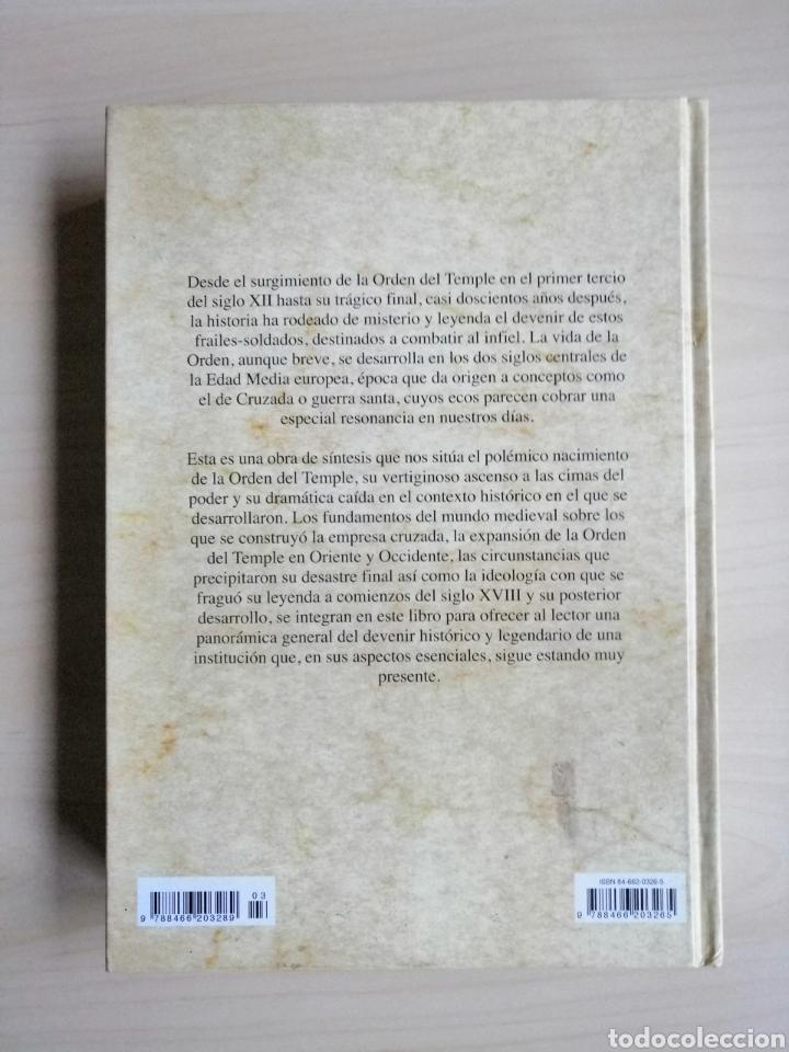 """Libros: Libro """"Los Templarios"""" de Pastora Barahona a estrenar. Editorial Libsa. Tapa dura. - Foto 2 - 231581720"""