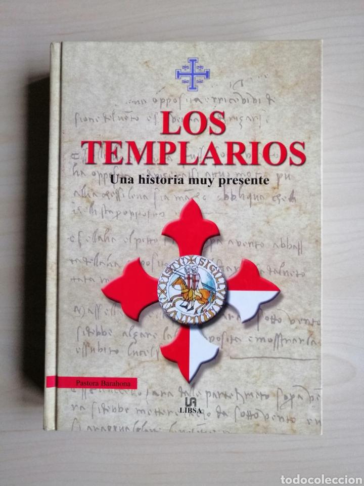 """LIBRO """"LOS TEMPLARIOS"""" DE PASTORA BARAHONA A ESTRENAR. EDITORIAL LIBSA. TAPA DURA. (Libros Nuevos - Historia - Historia Antigua)"""