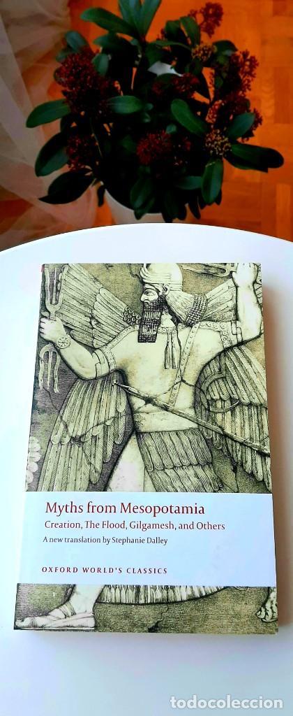 Libros: Mitos Mesopotámicos. Enuma Elish, Lambert2013. Gilgamesh, Sanmartín2018. Dalley2008. Livingstone2007 - Foto 9 - 235013875