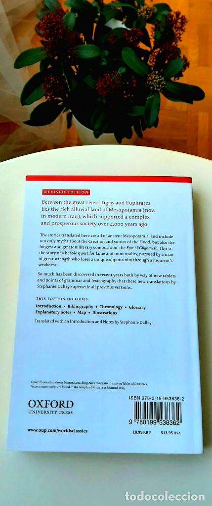 Libros: Mitos Mesopotámicos. Enuma Elish, Lambert2013. Gilgamesh, Sanmartín2018. Dalley2008. Livingstone2007 - Foto 11 - 235013875
