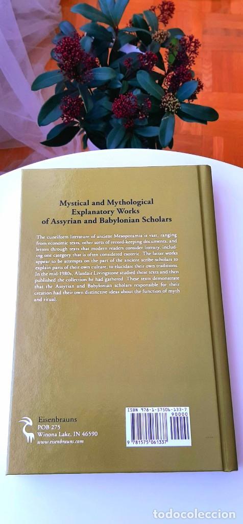 Libros: Mitos Mesopotámicos. Enuma Elish, Lambert2013. Gilgamesh, Sanmartín2018. Dalley2008. Livingstone2007 - Foto 15 - 235013875