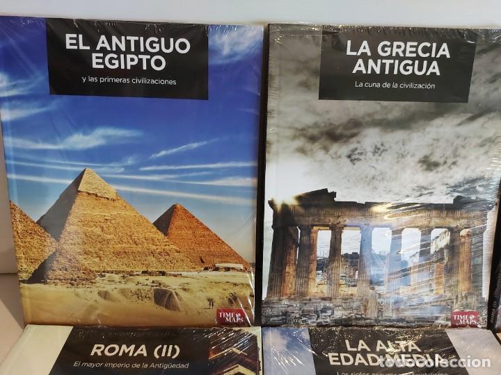 Libros: GRANDES TEMAS DE LA HISTORIA / ED: EL MUNDO - TIME MAPS / COMPLETA 12 TOMOS PRECINTADOS !! OCASIÓN. - Foto 2 - 236348465