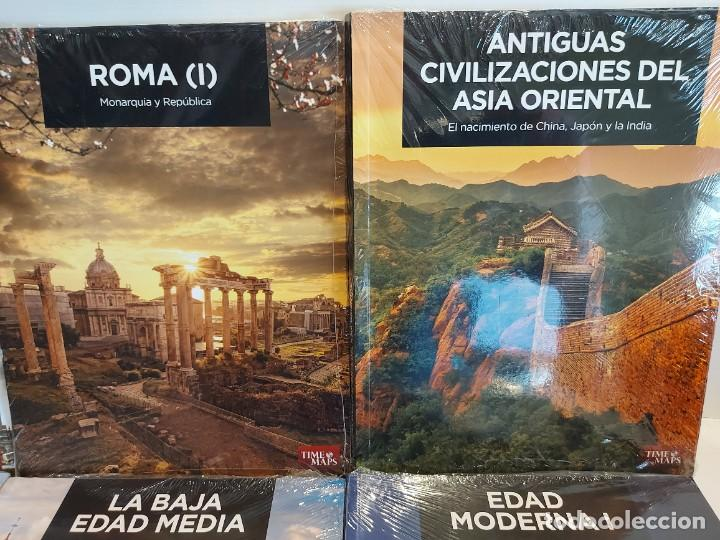 Libros: GRANDES TEMAS DE LA HISTORIA / ED: EL MUNDO - TIME MAPS / COMPLETA 12 TOMOS PRECINTADOS !! OCASIÓN. - Foto 3 - 236348465
