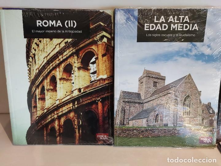 Libros: GRANDES TEMAS DE LA HISTORIA / ED: EL MUNDO - TIME MAPS / COMPLETA 12 TOMOS PRECINTADOS !! OCASIÓN. - Foto 4 - 236348465