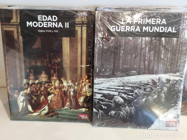 Libros: GRANDES TEMAS DE LA HISTORIA / ED: EL MUNDO - TIME MAPS / COMPLETA 12 TOMOS PRECINTADOS !! OCASIÓN. - Foto 6 - 236348465