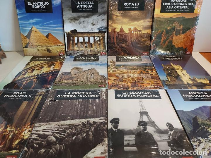 GRANDES TEMAS DE LA HISTORIA / ED: EL MUNDO - TIME MAPS / COMPLETA 12 TOMOS PRECINTADOS !! OCASIÓN. (Libros Nuevos - Historia - Historia Antigua)