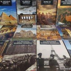 Libros: GRANDES TEMAS DE LA HISTORIA / ED: EL MUNDO - TIME MAPS / COMPLETA 12 TOMOS PRECINTADOS !! OCASIÓN.. Lote 236348465