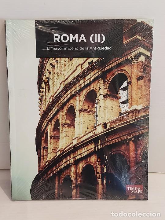 ROMA (II) EL MAYOR IMPERIO DE LA ANTIGÜEDAD / ED:. TIME MAPS / PRECINTADO. (Libros Nuevos - Historia - Historia Antigua)