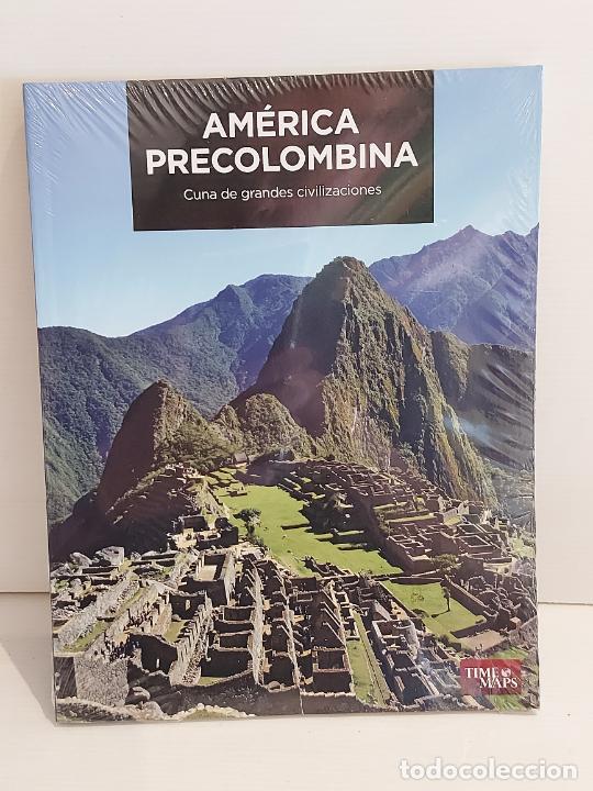 AMÉRICA PRECOLOMBINA / CUNA DE GRANDES CIVILIZACIONES / ED:. TIME MAPS / PRECINTADO. (Libros Nuevos - Historia - Historia Antigua)