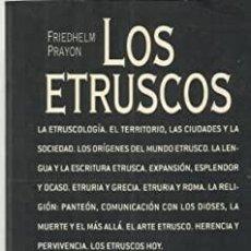 Libros: LOS ETRUSCOS. ACENTO. Lote 239380850