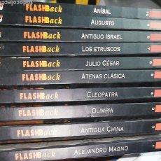 Libros: LOTE GUÍAS ACENTO FLASH BACK (DEL 1 AL 10). Lote 239384155