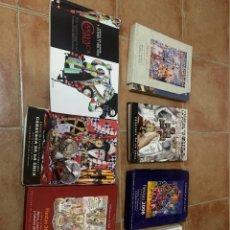 Libros: LOTE DE LIBROS DE LA FIESTA DE CARAVACA DE LA CRUZ. Lote 241058075
