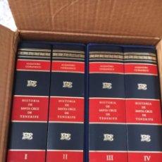 Livres: HISTORIA DE SANTA CRUZ DE TENERIFE POR ALEJANDRO CIORANESCU. Lote 242288750