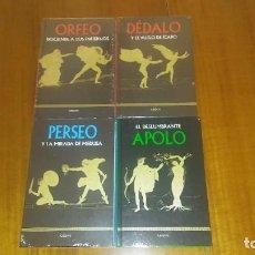 Libros: COLECCIÓN MITOLOGÍA CLÁSICA: ORFEO, APOLO, DÉDALO E ÍCARO, PERSEO. GREDOS-RBA. 4 LIBROS. Lote 245633365