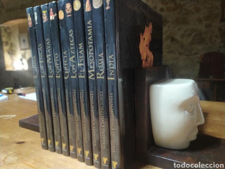 Libros: Ocasión! Colección completa a estrenar de Grandes Civilizaciones, ediciones Rueda. 10 tomos. - Foto 2 - 248749125