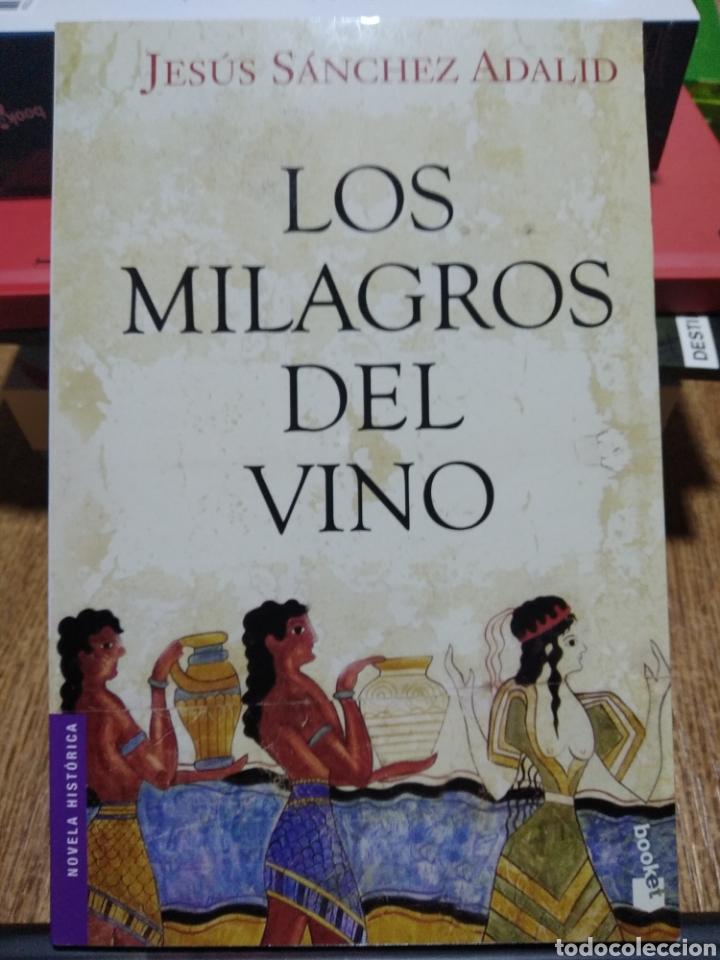 LOS MILAGROS DEL VINO. JESÚS SÁNCHEZ ADALID. (Libros Nuevos - Historia - Historia Antigua)