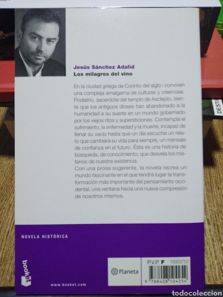 Libros: Los milagros del vino. Jesús Sánchez adalid. - Foto 2 - 243930425