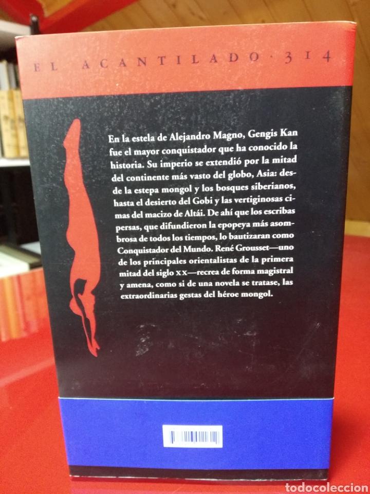 Libros: René Grousset. El Conquistador Del Mundo. Vida De Gengis Kan (El Acantilado) - Foto 2 - 251523750