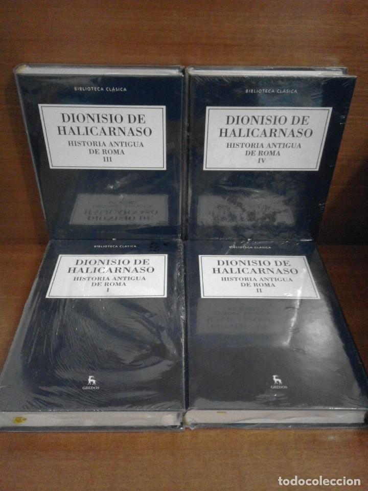 DIONISIO DE HALICARNASO - HISTORIA ANTIGUA DE ROMA I-II-III-IV - GREDOS 2016 (Libros Nuevos - Historia - Historia Antigua)