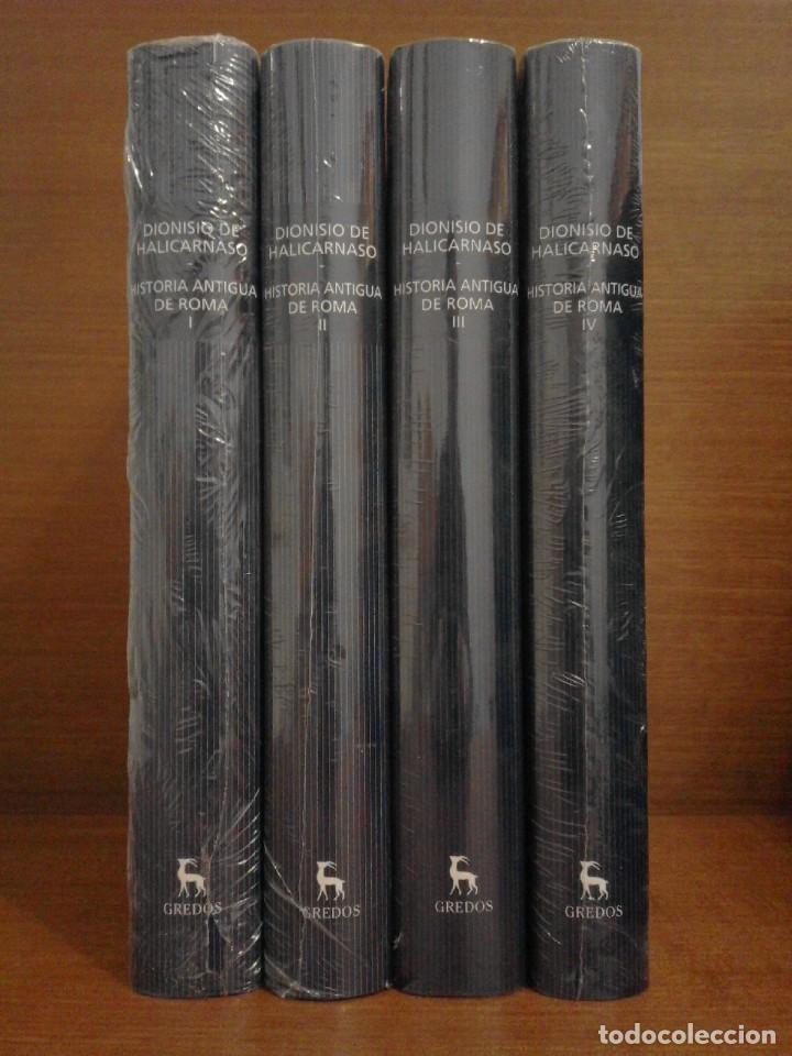 Libros: Dionisio de Halicarnaso - Historia Antigua de Roma I-II-III-IV - Gredos 2016 - Foto 2 - 252740655