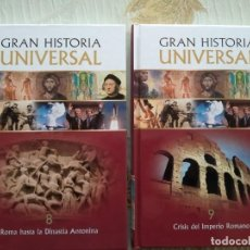 Libros: GRAN HISTORIA UNIVERSAL - VOLUMENES 8 Y 9. Lote 252953410