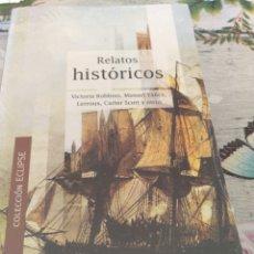 Libros: RELATOS HISTÓRICOS.COLECCION ECLIPSE DE VICTORIA ROBBINS. MANUEL YÁÑEZ. LERROUX. CARTER SCOTT .. Lote 253623500