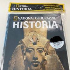 Libros: HISTORIA NATIONAL GEOGRAPHIC- PERSONAJES EDAD ANTIGUA - AJENATÓN Y DYOSER. Lote 257612330